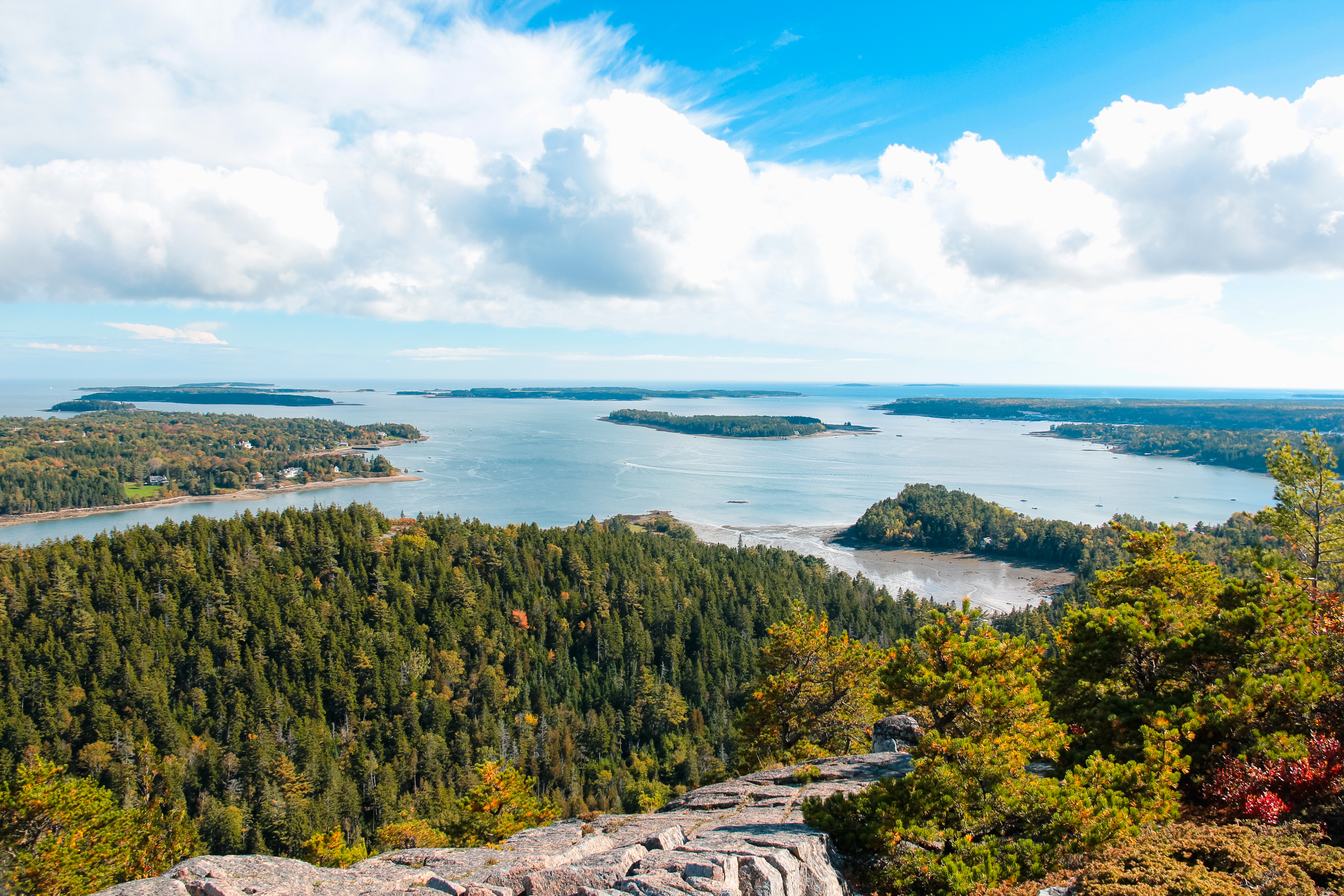 Acadia National Park; Places to visit in Maine