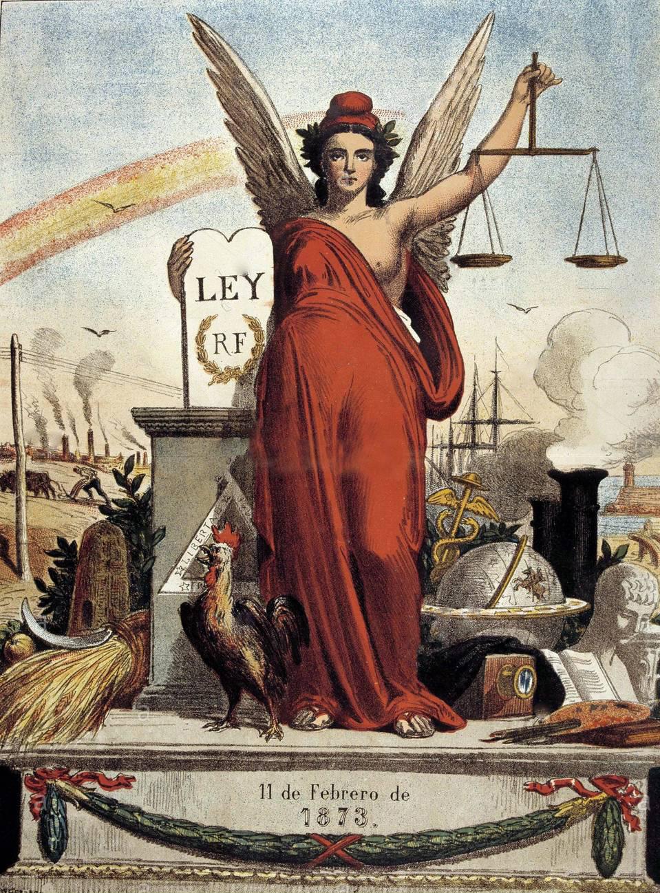 File:Alegoría de la Primera República Española, por Tomás Padró.jpg -  Wikimedia Commons