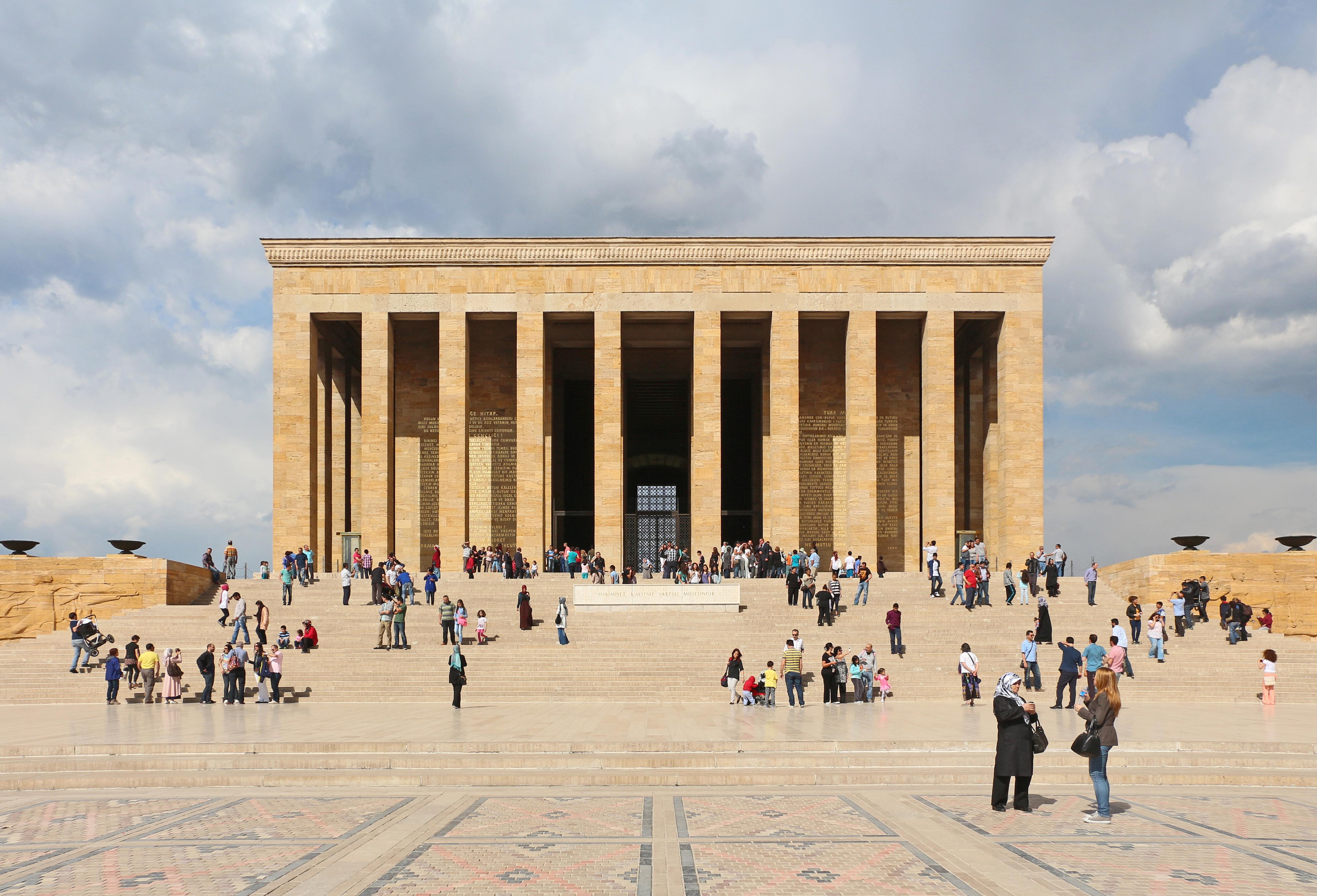 Resultado de imagen para Mausoleo Anitkabir
