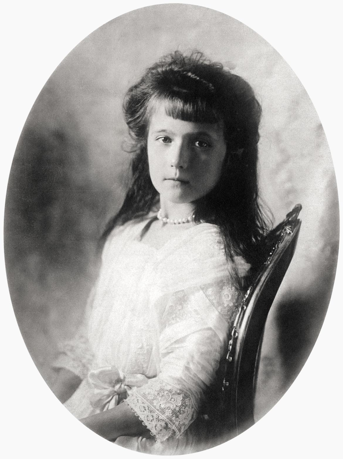OTMA, las últimas grandes duquesas de Rusia. Anastasia1909