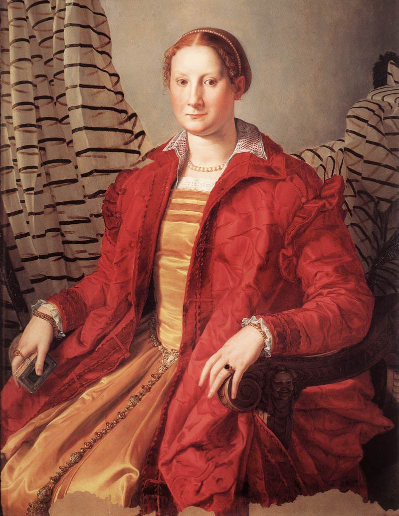 Angelo Bronzino - Portrait of a Lady - WGA03269.jpg