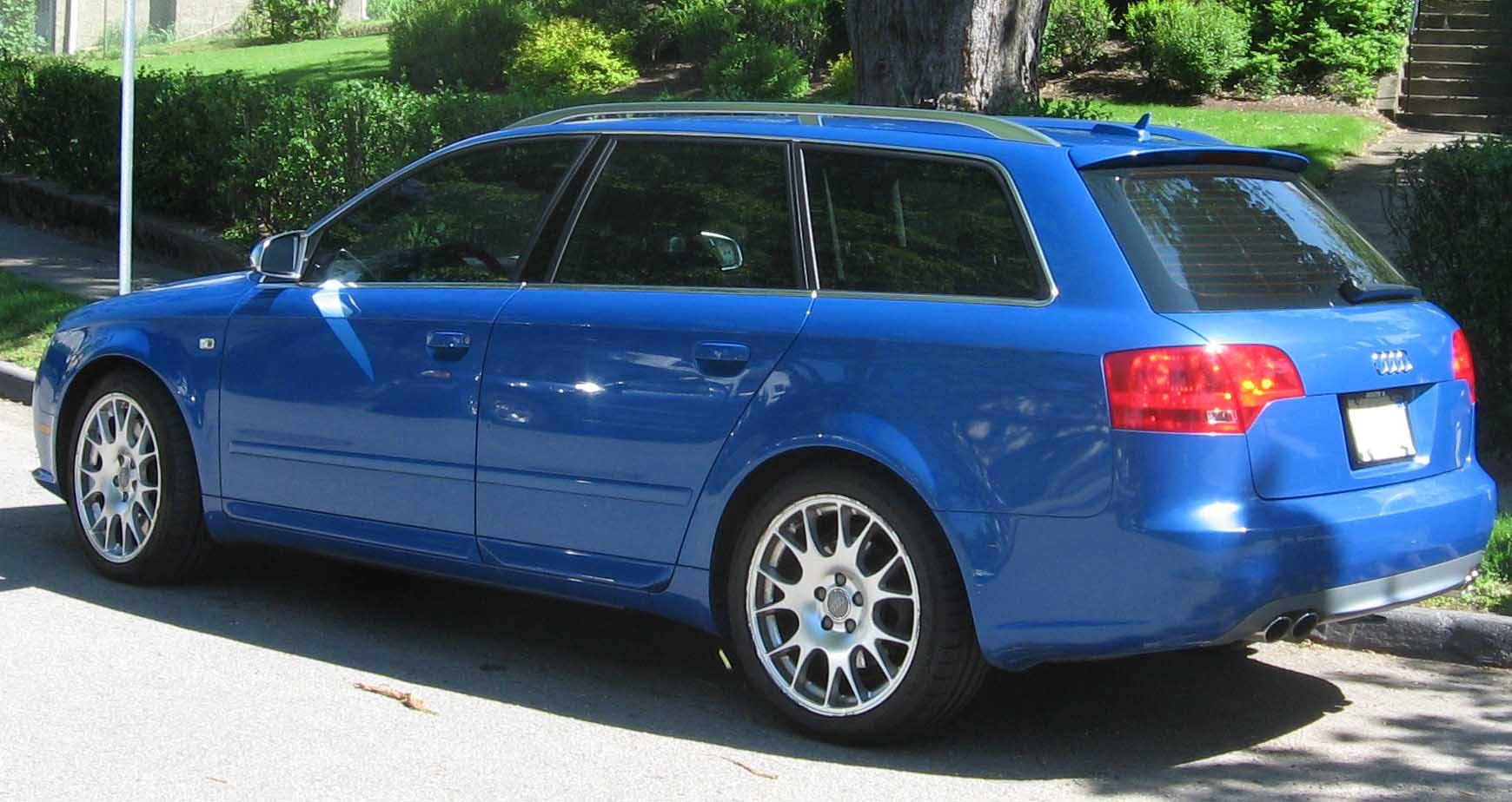 File Audi S4 Avant B7 Rear Jpg Wikimedia Commons