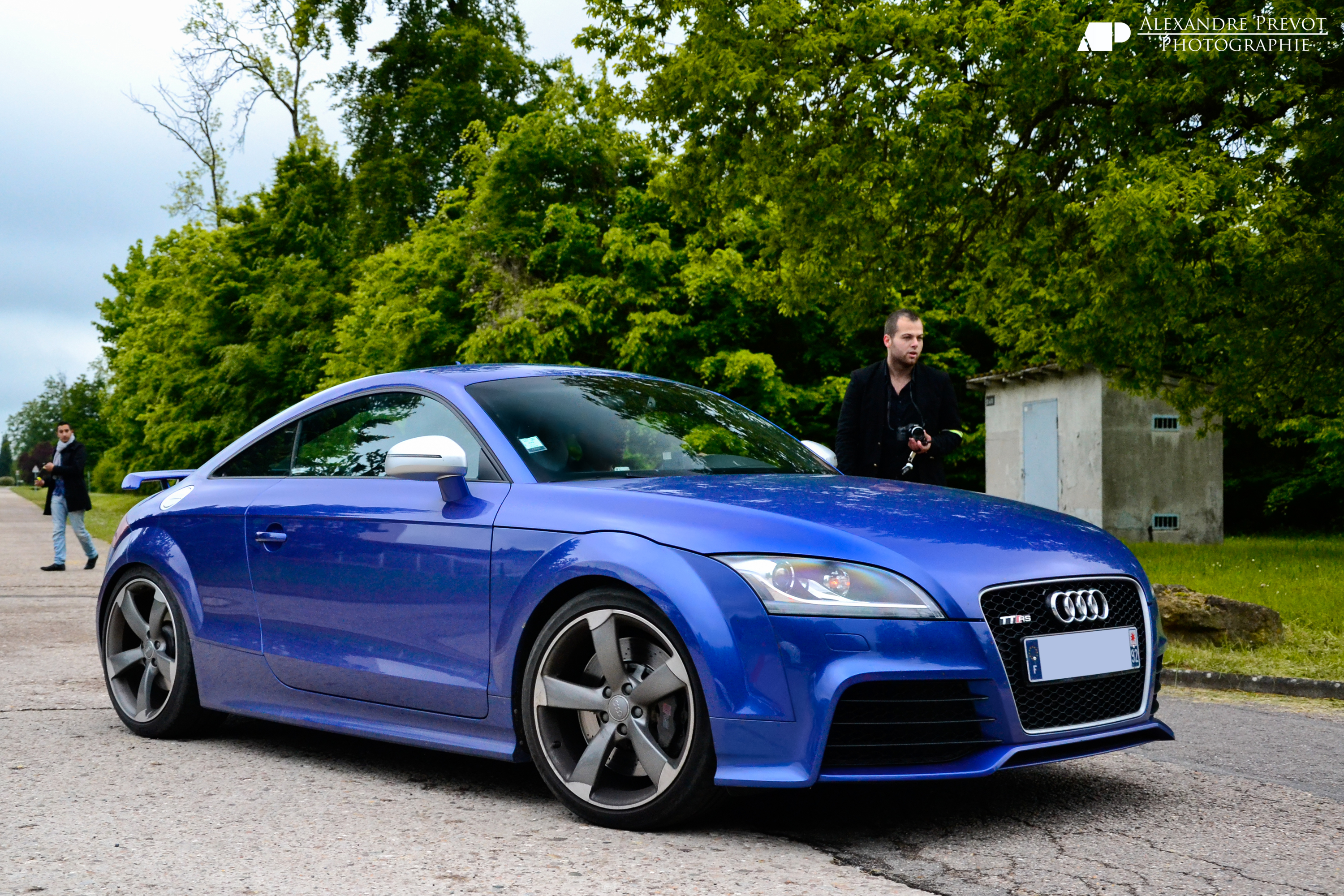 2013 Audi Tt Rs Blue 200 Interior And Exterior Images