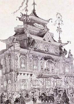 L'Inaugurazione del Bataclan nel 1865
