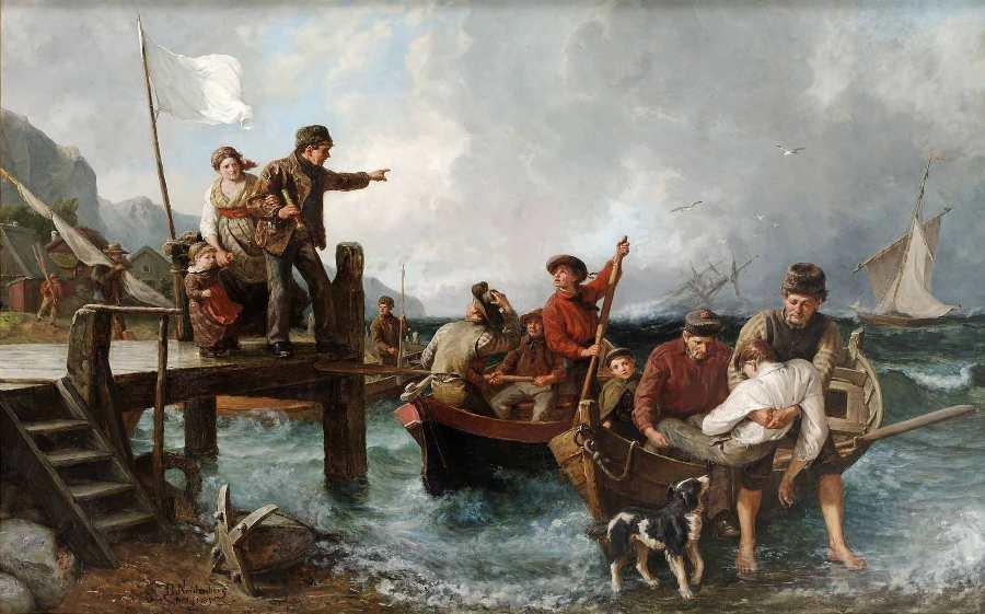 Bengt Nordenberg-Sjöräddning av skeppsbrutna 1883.JPG