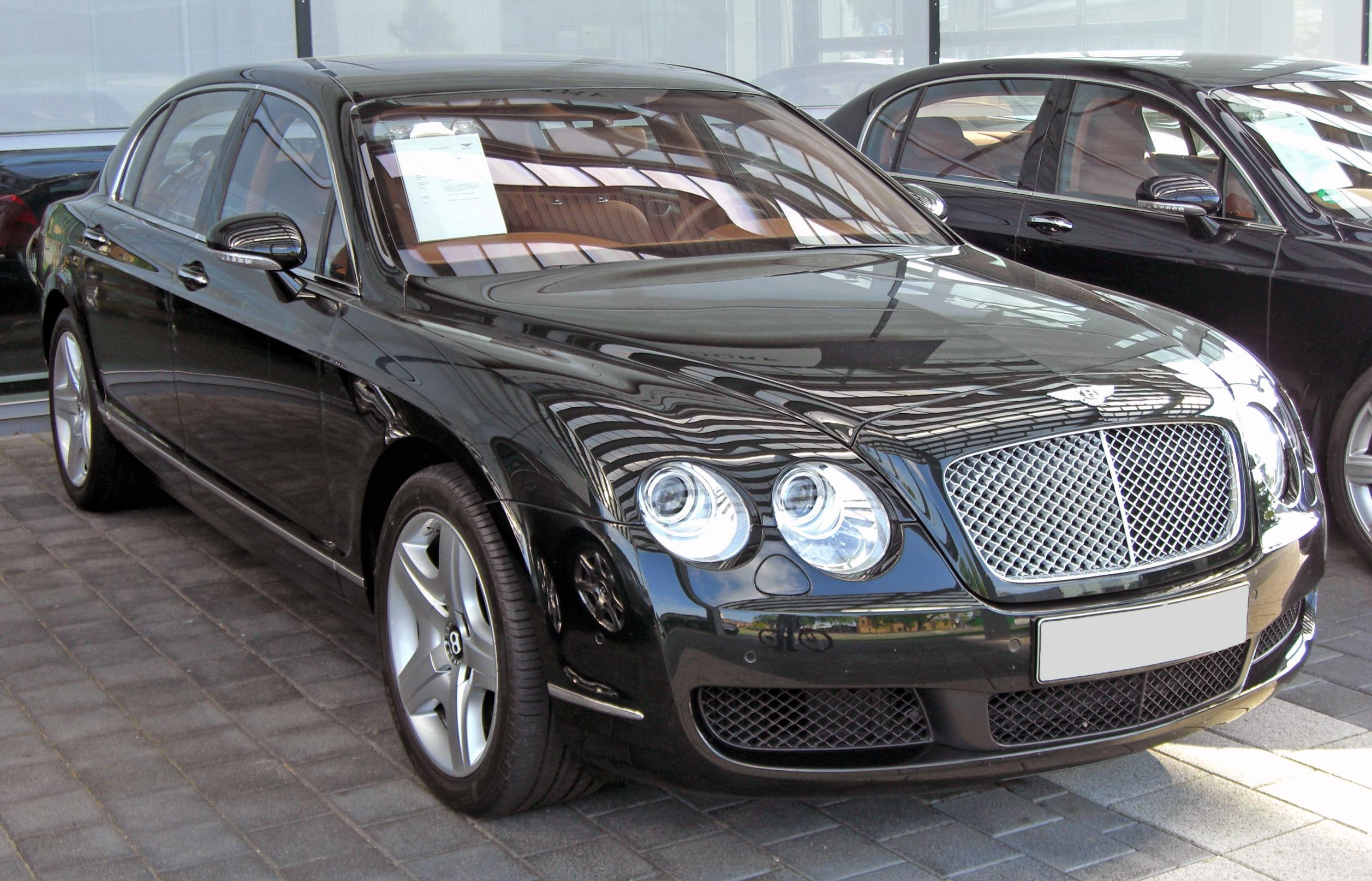 File Bentley Continental Flying Spur 20090531 Front 3 Jpg