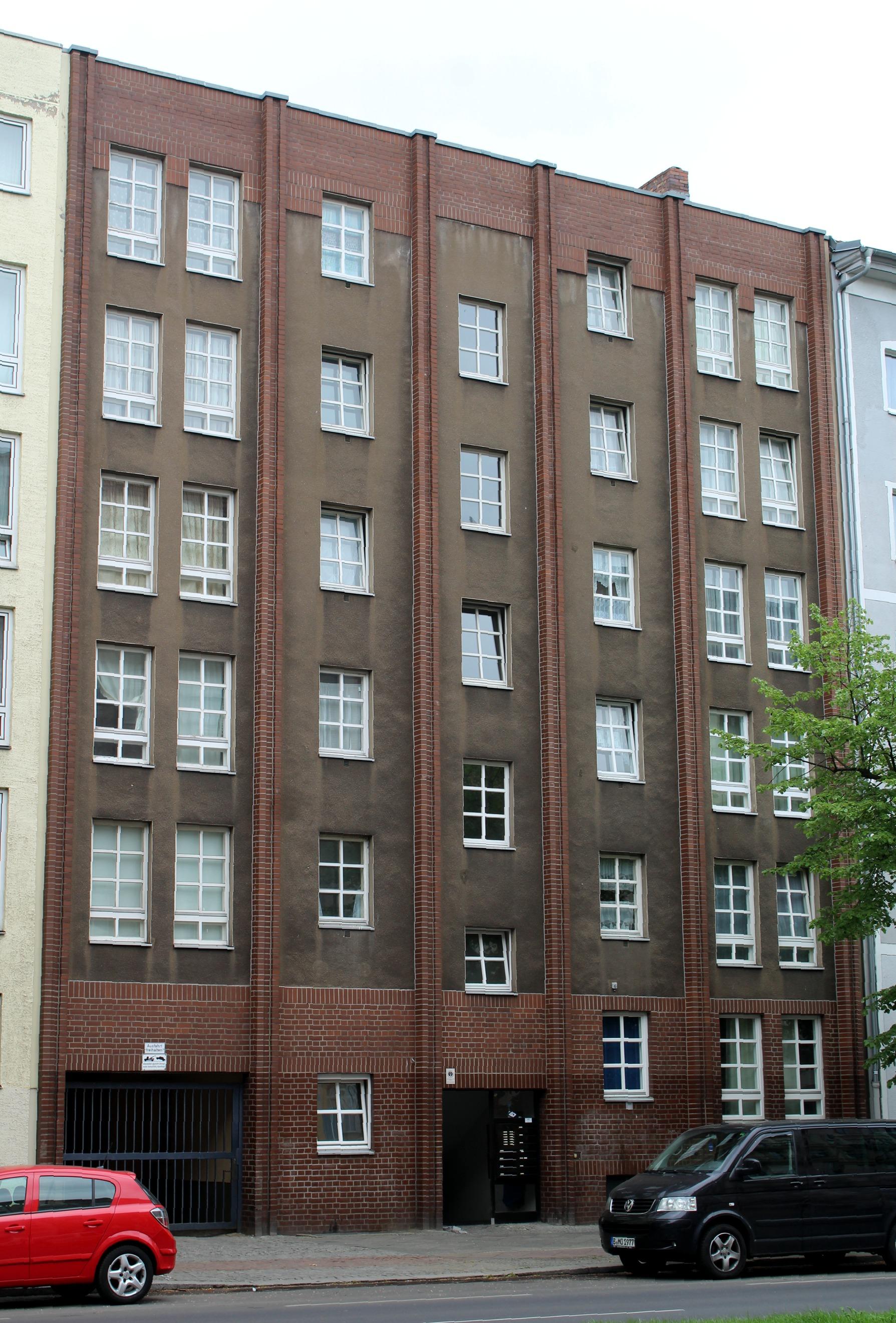File Berlin Wedding Haus Schulstrasse 30 Jpg Wikimedia Commons