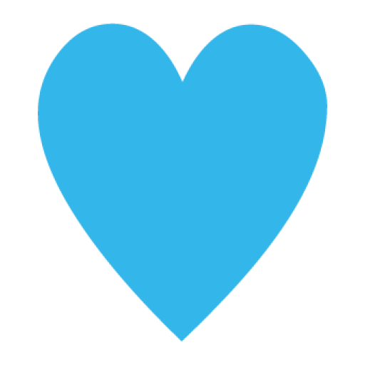 file blue heart png wikimedia commons