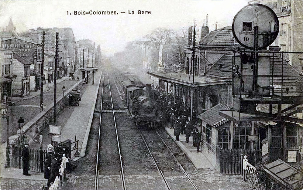 FichierBoisColombes  La gare 01jpg — Wikipédia ~ Laforet Bois Colombes