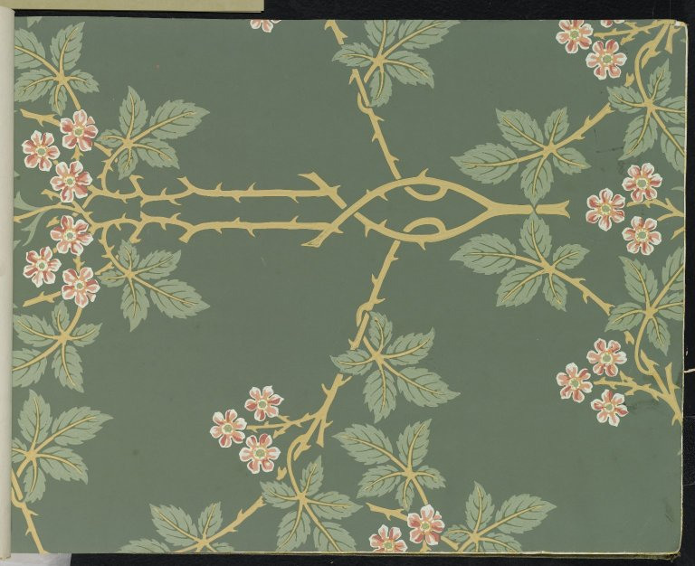 File Brooklyn Museum Wallpaper Sample Book 1 William Morris And Company Page025