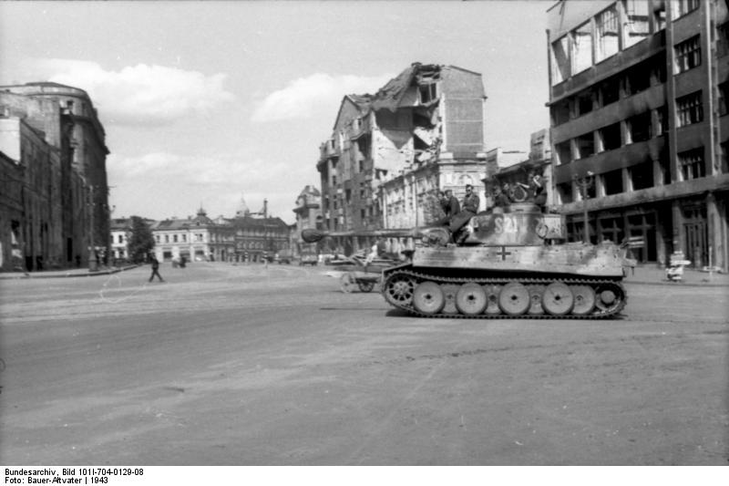 A Tiger at Kharkov