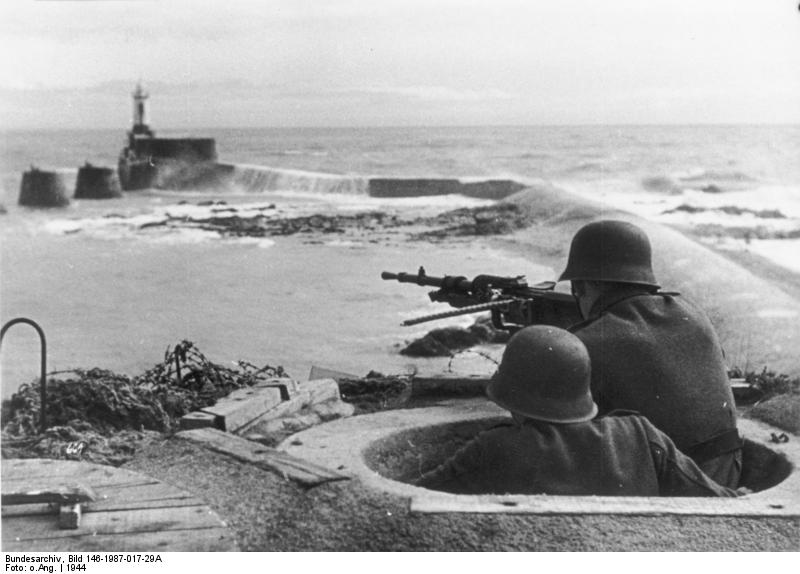 DDay Landing Sites Then and Now Normandy Beaches in 1944