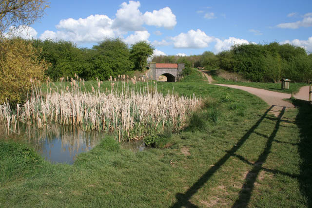 By the weir - Melton Country Park - geograph.org.uk - 1278629
