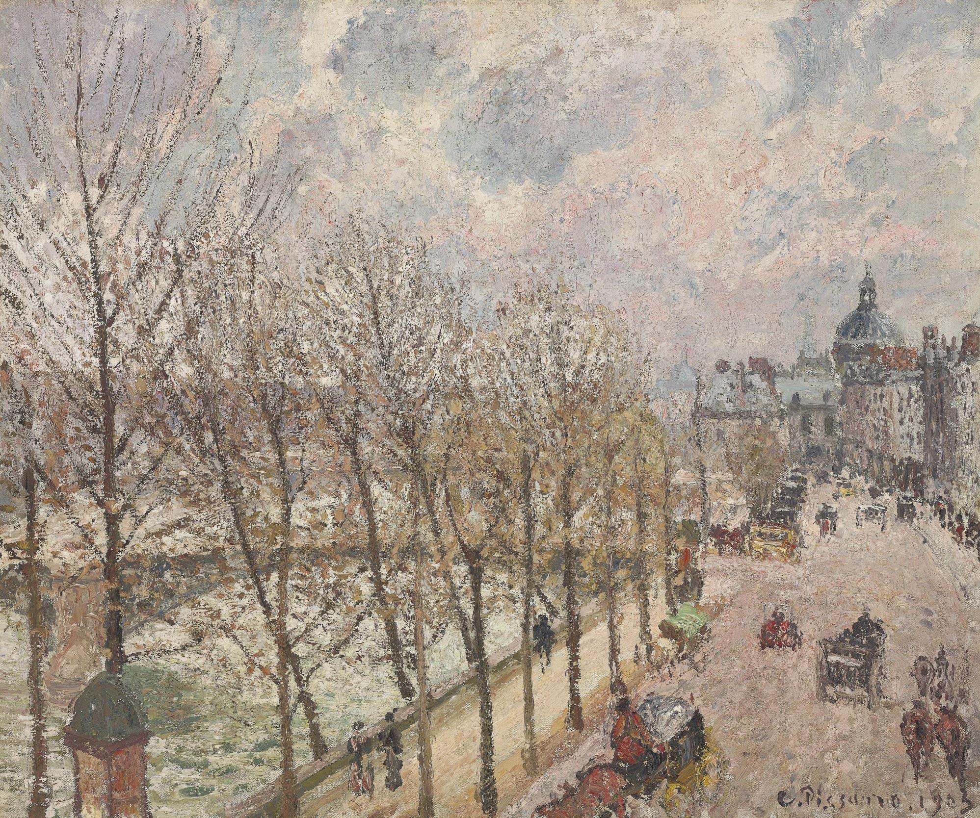 Art history news camille pissarro at auction part ii and for Le jardin du quai