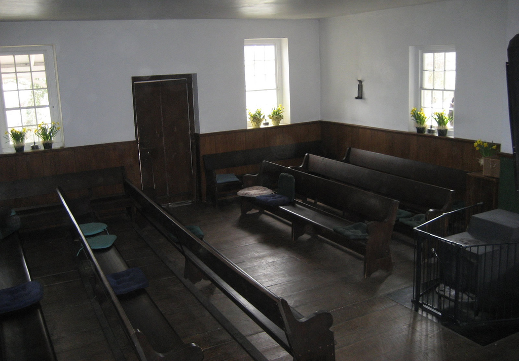 A Friends' Meeting House..