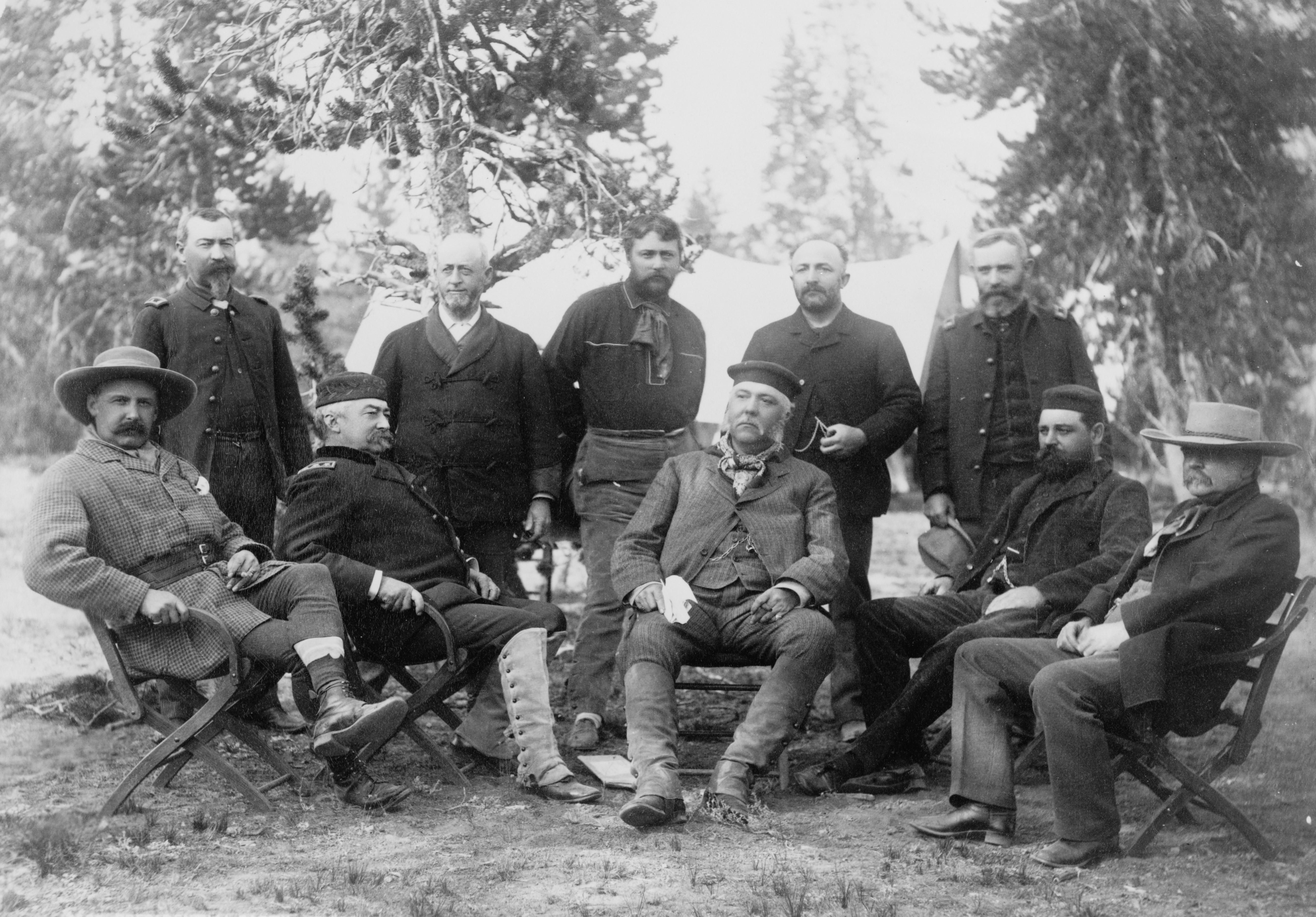 File Chester Arthur Party At Yellowstone National Park Jpg