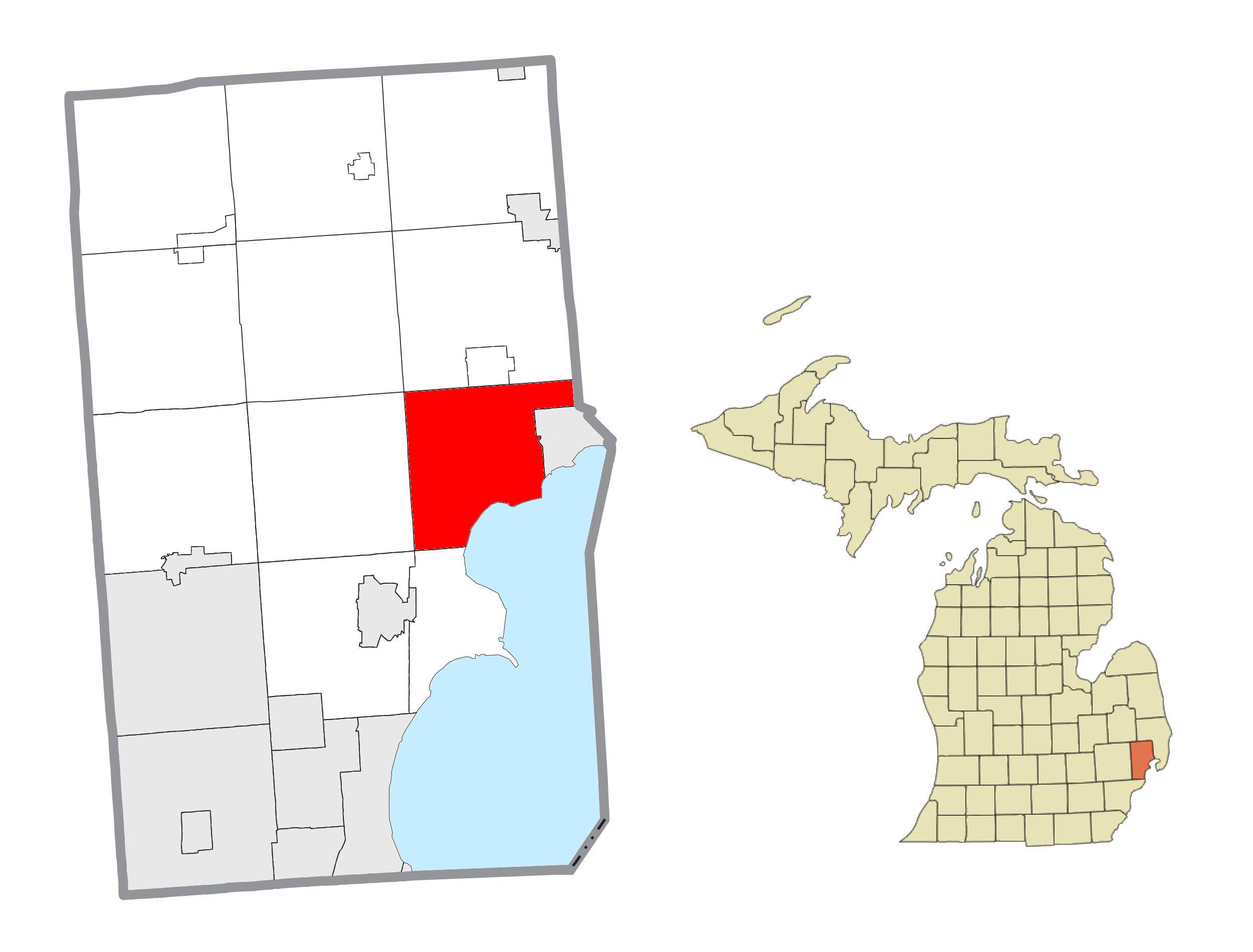 Chesterfield Township, Michigan - Wikipedia on