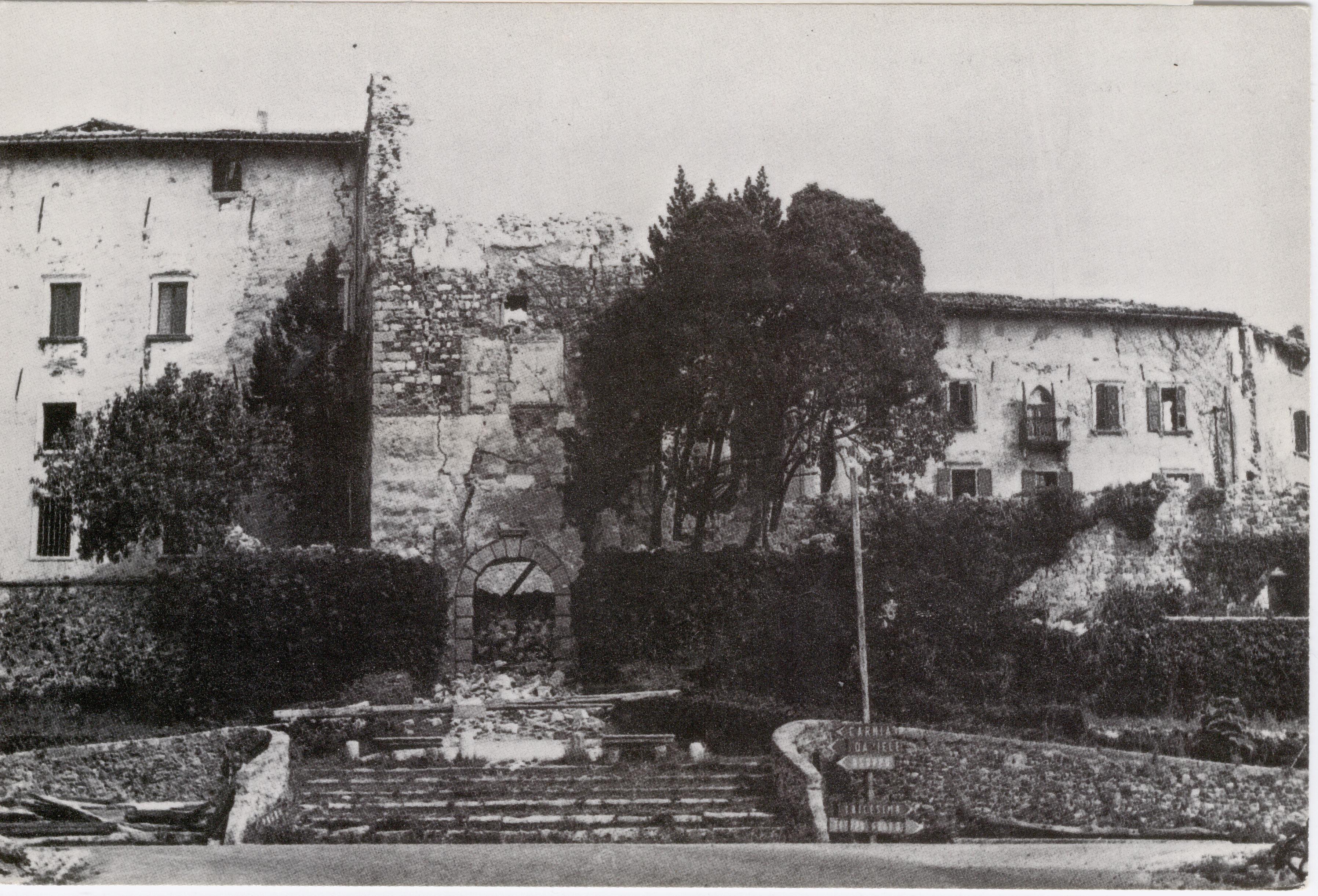 Castello di Colloredo di Monte Albano distrutto dal terremoto del 1976