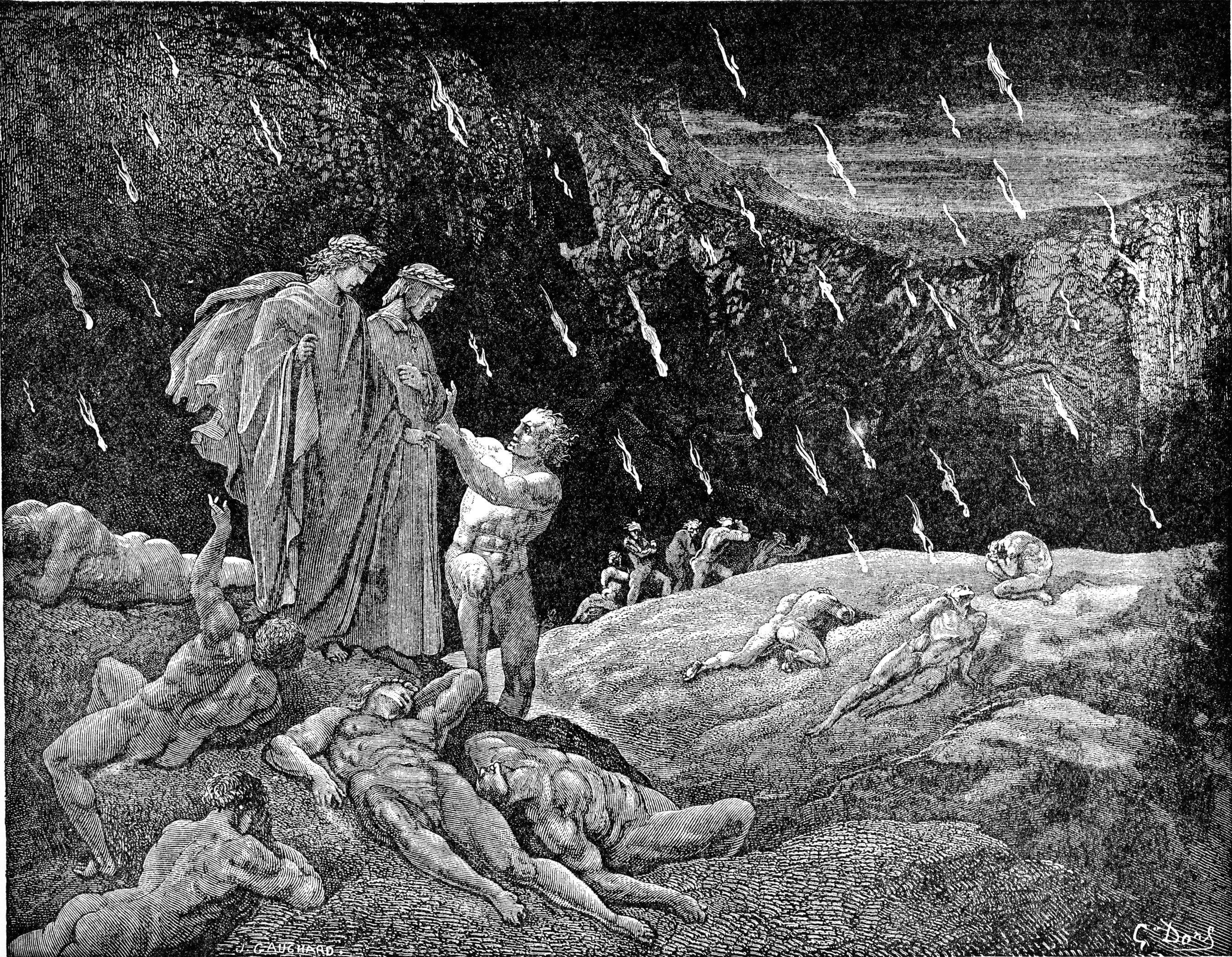 dantes inferno essay Allusions in dante's infemo sarah landas  below is the essay's first paragraph  the allusions in dante's inferno.