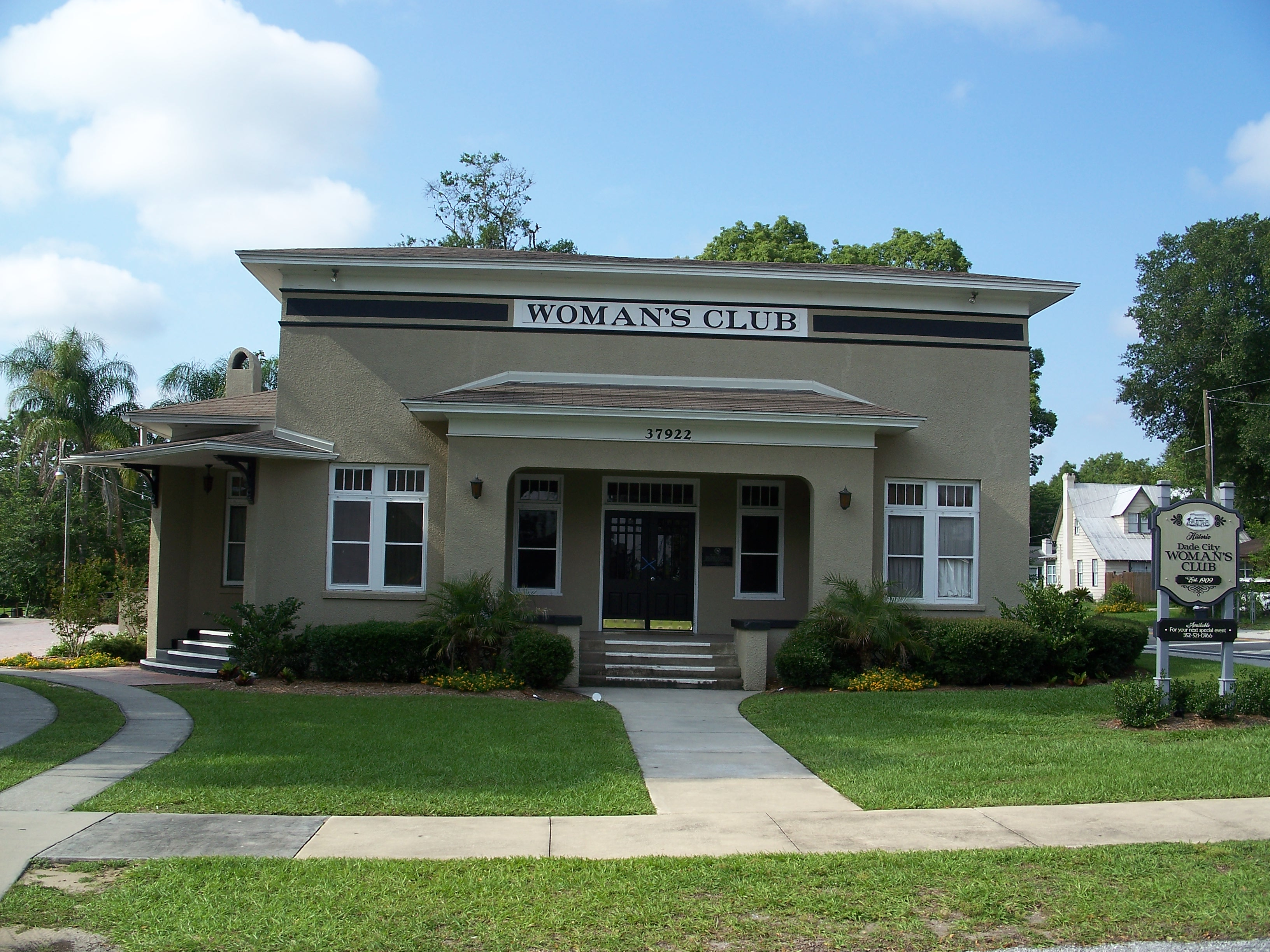 725bc3b3 Dade City Woman's Club - Wikipedia