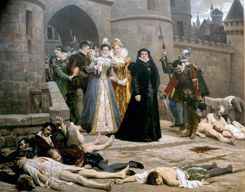 Enrico-II-Caterina-De'-Medici-San-Bartolomeo