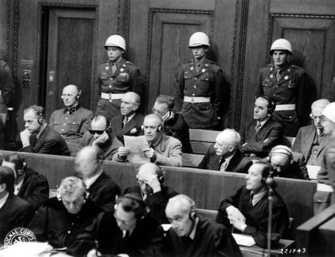 Defendants Nuremberg-War-Crimes-Tribunal 1945-11-27