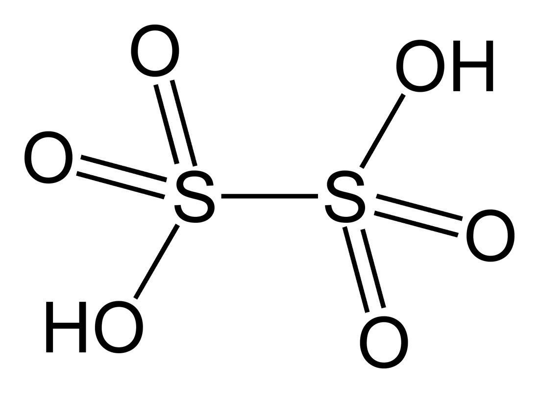 Дитионовая кислота - Wikiwand B2 Lewis Structure