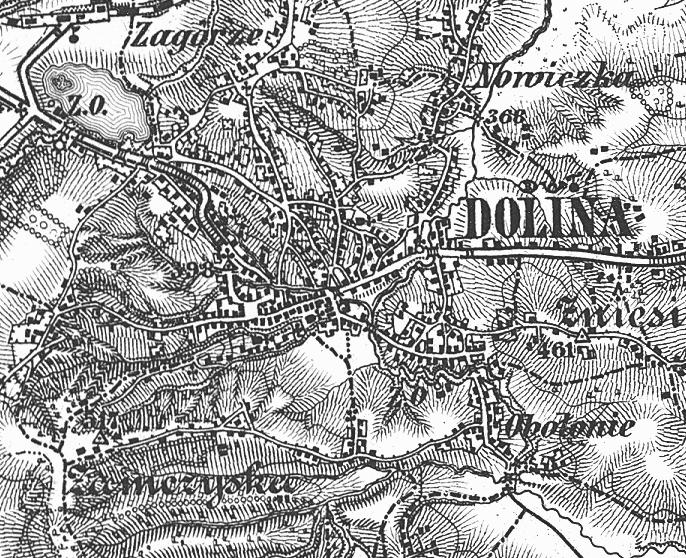 Карта 1877 года