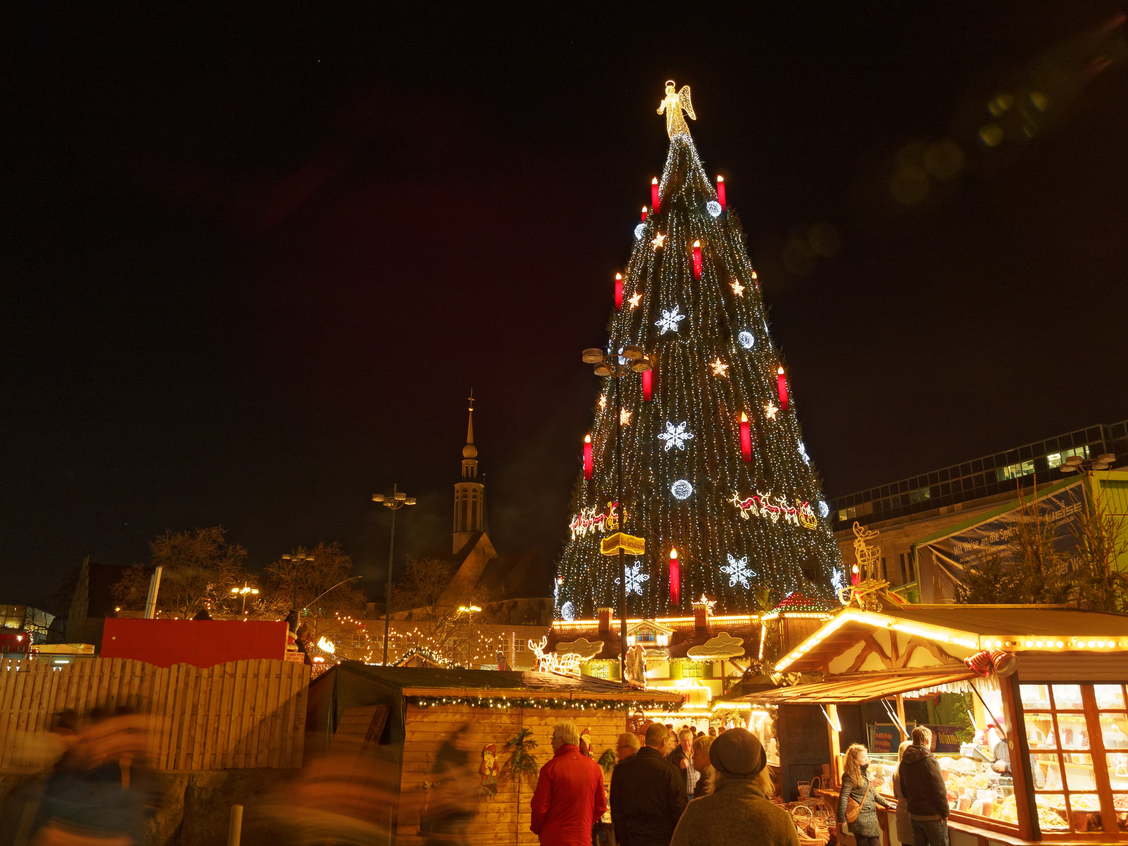 file dortmund christmas tree wikimedia commons. Black Bedroom Furniture Sets. Home Design Ideas