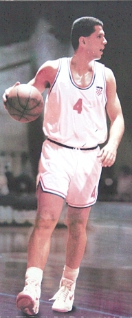 Petrović playing with Croatian national team. 60094b919