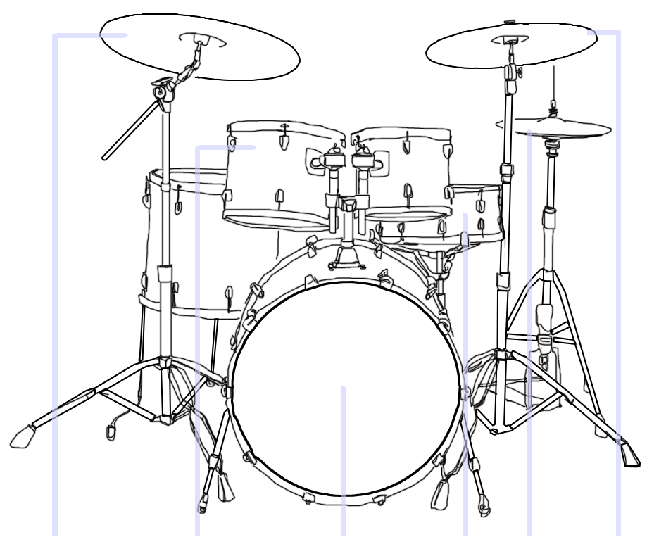 File:Drum kit illustration template.png - Wikimedia Commons