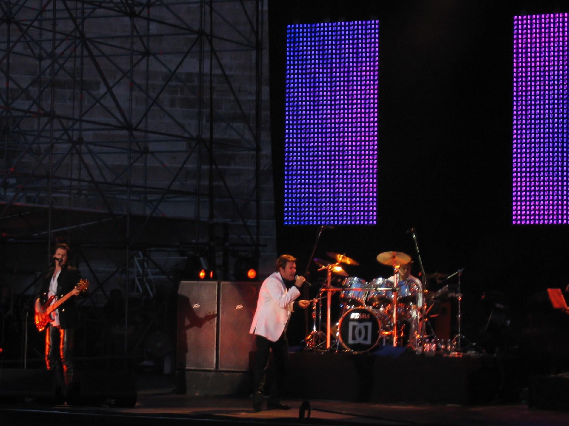 Duran Duran in Verona, Italia