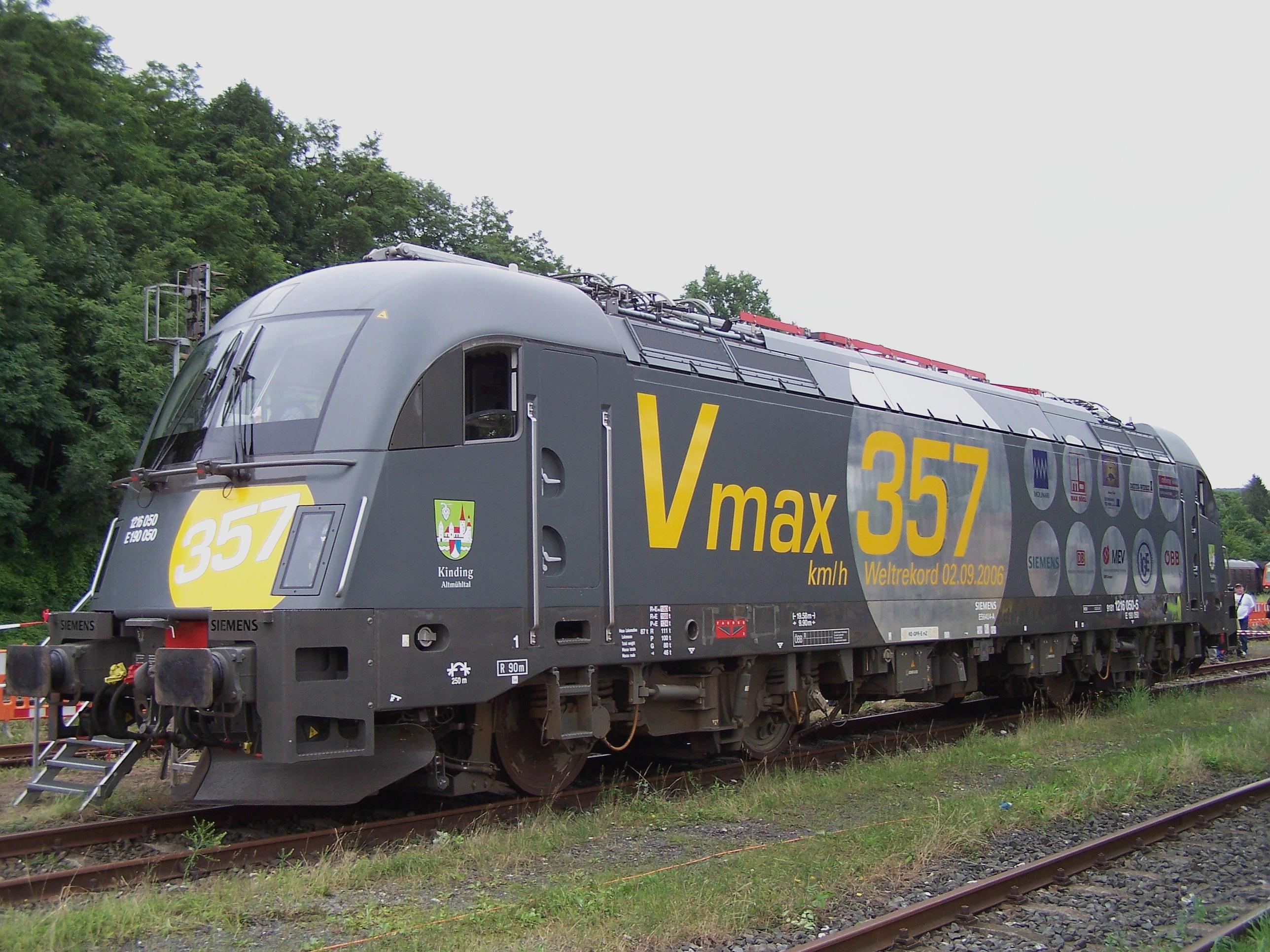 Geschwindigkeitsweltrekorde Für Schienenfahrzeuge Wikipedia