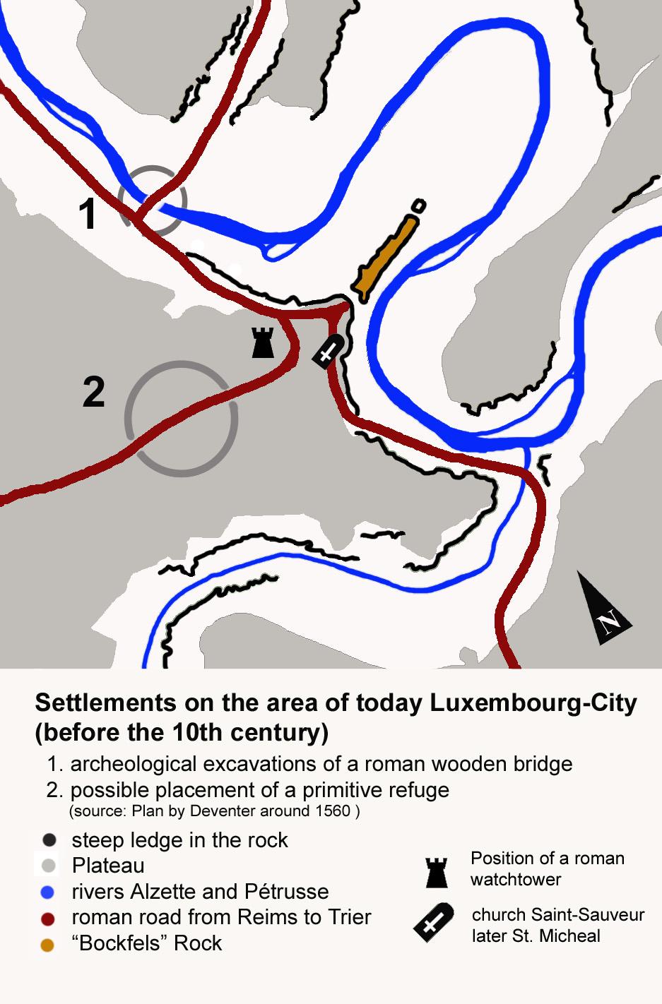 Depiction of Historia de Luxemburgo