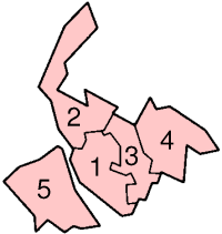 Metropolitan Boroughs in Merseyside