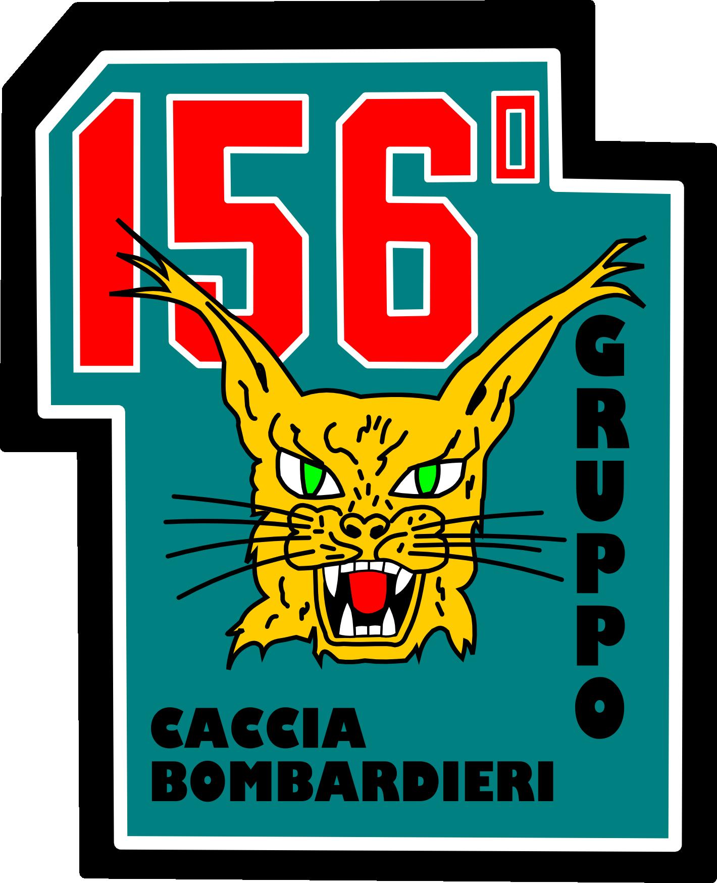 - chegar ao 500 em imagens.  - Página 7 Ensign_of_the_156%C2%BA_Gruppo_of_the_Italian_Air_Force