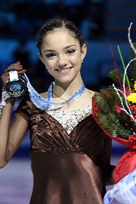 Evgenia Medvedeva at the Junior Grand Prix Final 2014 - Awarding ceremony 02.jpg