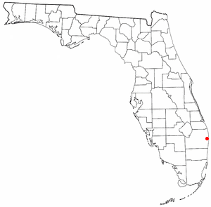Location of Atlantis, Florida