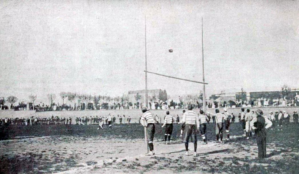Filefinale Du Championnat De France De Rugby 1900 Bordeaux