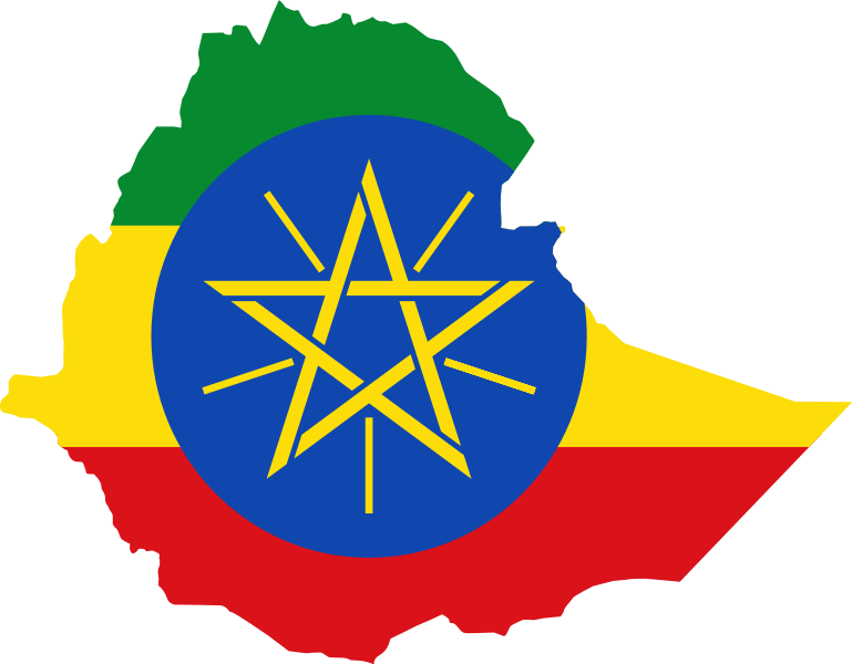 File Flag Map Of Ethiopia Png Wikimedia Commons