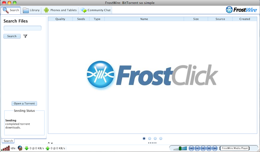 New Version Frostwire