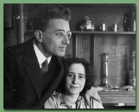 Photo of Günther Stern with Hannah Arendt in 1929