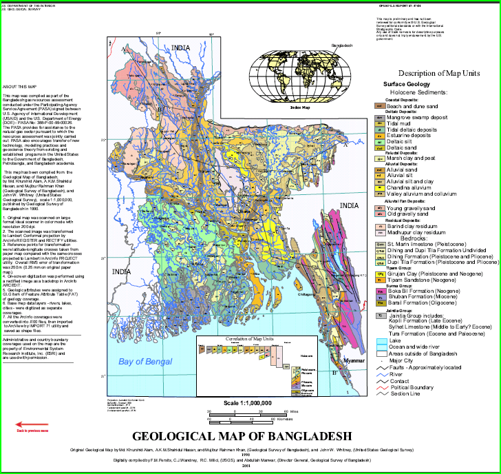 Geologic Map Of Santa Catalina Island