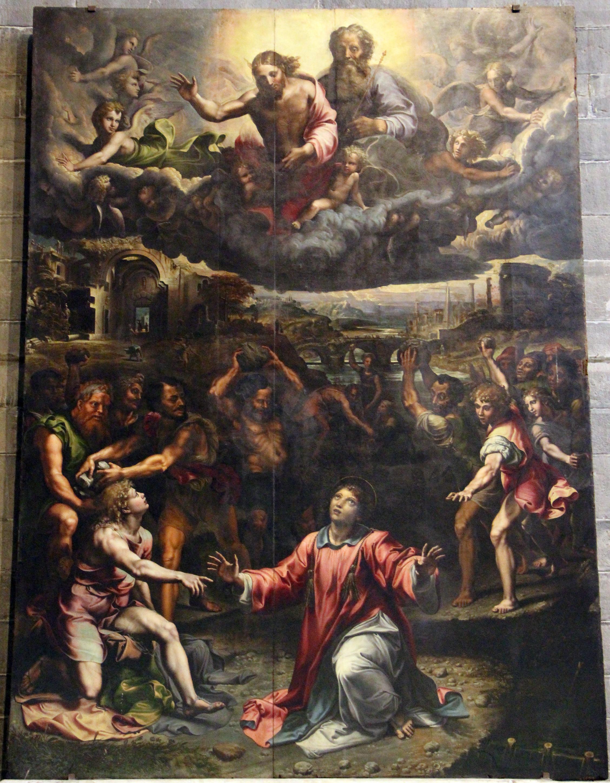 File:Giulio romano, lapidazione di santo stefano, 1521, 01.JPG
