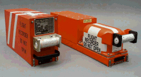 A typical digital flight data recorder and coc...