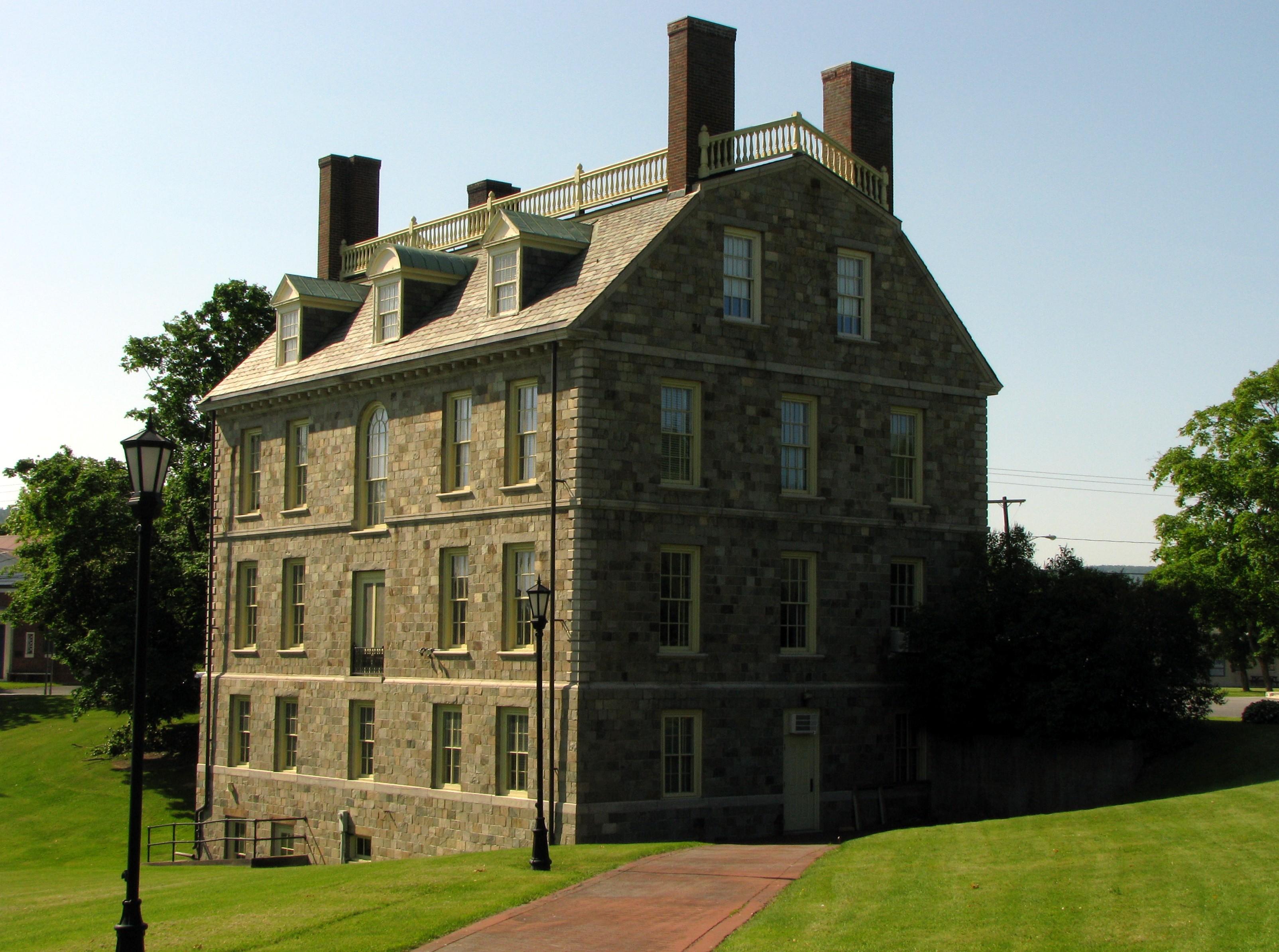 Early American Furniture Reproductions File:Hancock House, Ticonderoga, NY.jpg - Wikipedia