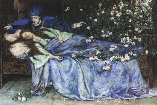 Henry Meynell Rheam - Sleeping Beauty.jpg