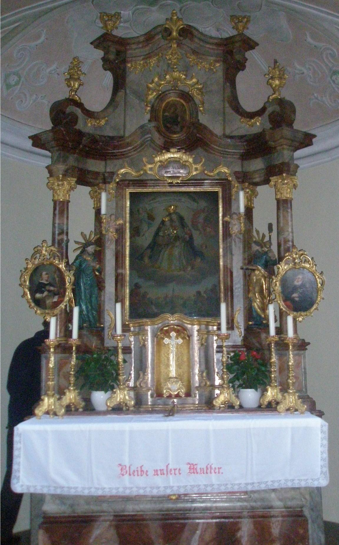 Der Altar der Hilgerkapelle