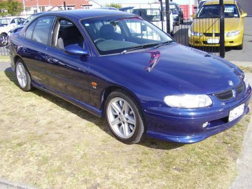 2003 Holden Vy Commodore Ss. Utethe holden commodore-ss