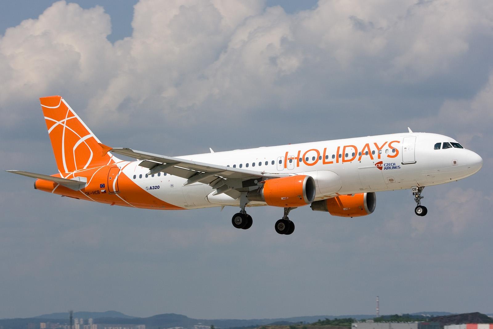 Avion Holideyz Czech Airlines (__gVirt_NP_NNS_NNPS<__ Holidays Czech Airlines). Sayt.2 officiel